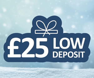 Book with £25 Deposit
